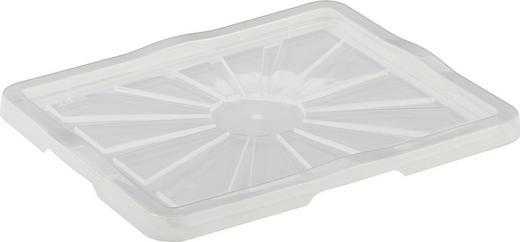 BOXDECKEL - Transparent, Design, Kunststoff (43/2/35cm) - Carryhome