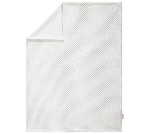 BABYDECKE 75/100 cm - Creme/Cappuccino, KONVENTIONELL, Textil (75/100cm) - My Baby Lou