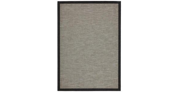FLACHWEBETEPPICH IN-/ OUTDOOR  170/230 cm  Anthrazit   - Anthrazit, Basics, Textil (170/230cm) - Linea Natura