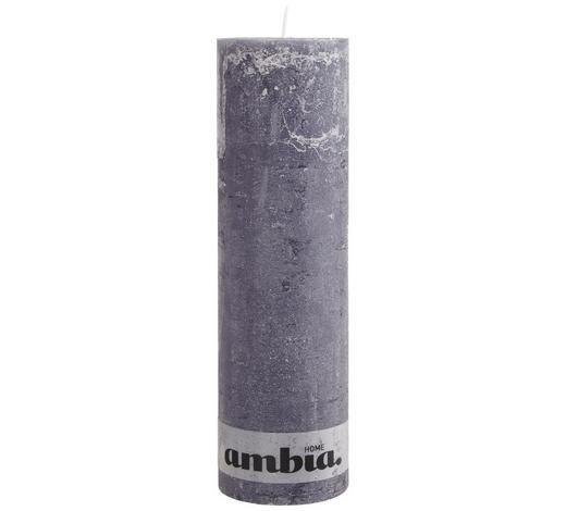 STUMPENKERZE 10/34 cm  - Dunkelgrau, Basics (10/34cm) - Ambia Home