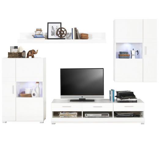 Wohnwand in Weiß - Möbelset direkt online kaufen