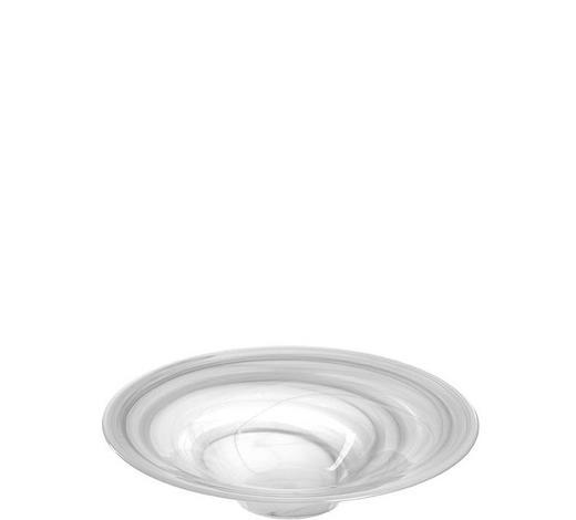 DEKOSCHALE - Klar/Weiß, Basics, Glas (26,00/6,00/26,00cm) - Leonardo