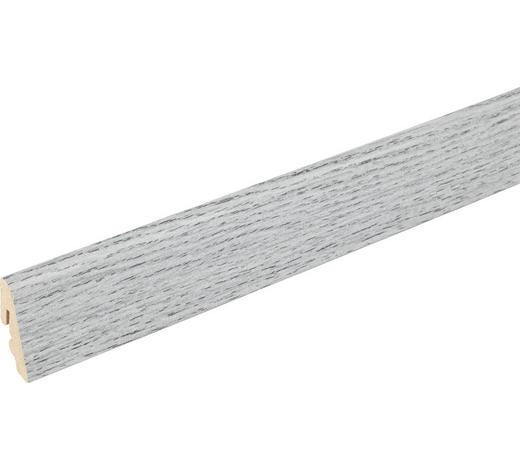 SOCKELLEISTE Grau - Grau, Basics, Holz (240/1,85/3,85cm) - Homeware