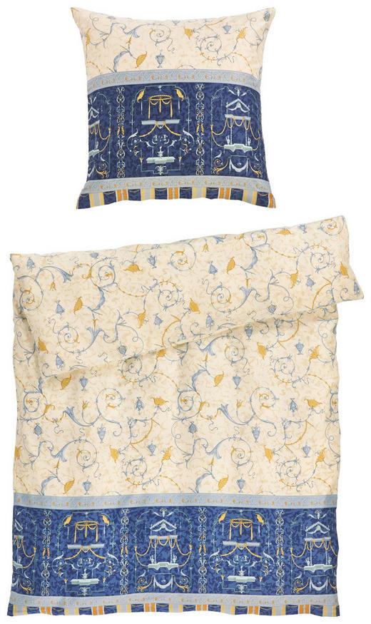 BETTWÄSCHE Makosatin Blau 135/200 cm - Blau, Basics, Textil (135/200cm) - BASSETTI
