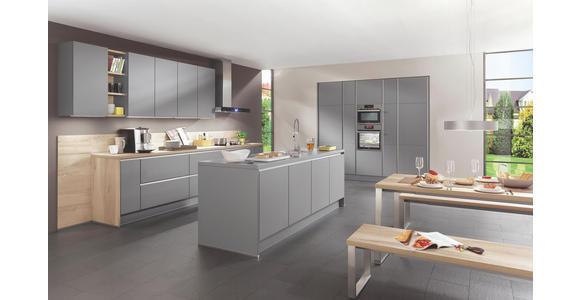Einbauküche Toronto individuell planbar - Schwarz/Weiß, MODERN, Holzwerkstoff - Vertico