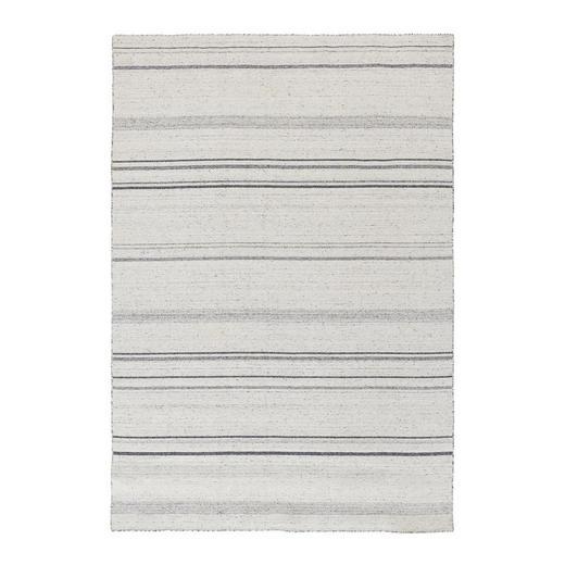 HANDWEBTEPPICH  90/160 cm  Silberfarben - Silberfarben, Textil (90/160cm) - Novel