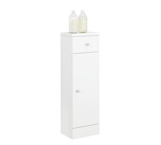 SPODNÍ SKŘÍŇKA, bílá - bílá/barvy chromu, Konvenční, kompozitní dřevo (25/82/20cm) - Xora
