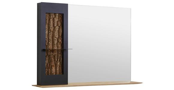 SPIEGEL 117,5/79/22 cm  - Eichefarben/Anthrazit, Natur, Glas/Holz (117,5/79/22cm) - Valnatura