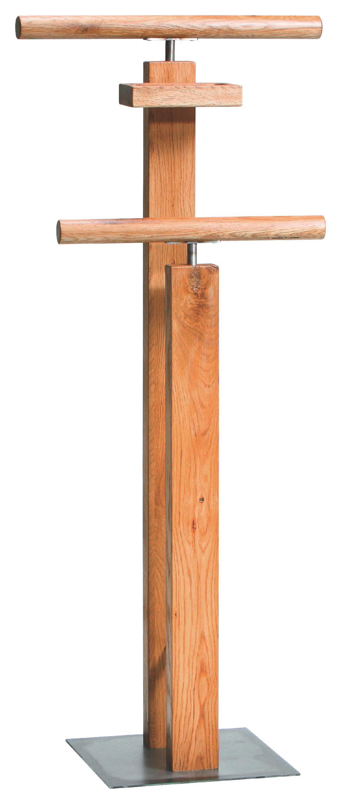 HERRENDIENER Eichefarben - Eichefarben, KONVENTIONELL, Holz (45/107/28cm) - HASENA