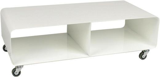 TV-ELEMENT Weiß - Weiß, Design, Kunststoff/Metall (90/30/42cm) - Kare-Design