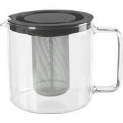 TEEKANNENSET 1,3 l - Klar, Basics, Glas/Metall (1,3l)