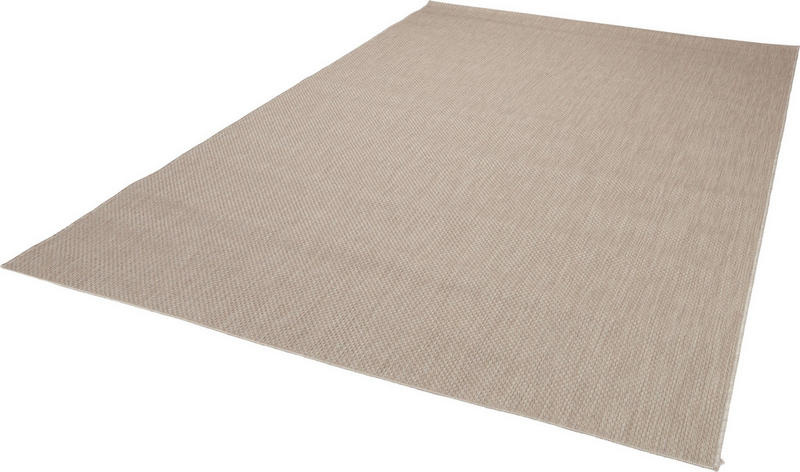 FLATVÄVD MATTA - mullvadsfärgad/gråbrun, Klassisk, textil (60/180cm) - Boxxx