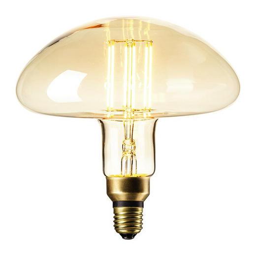 LED-Leuchtmittel E27 - Goldfarben, LIFESTYLE, Glas (19,5/19,7cm)