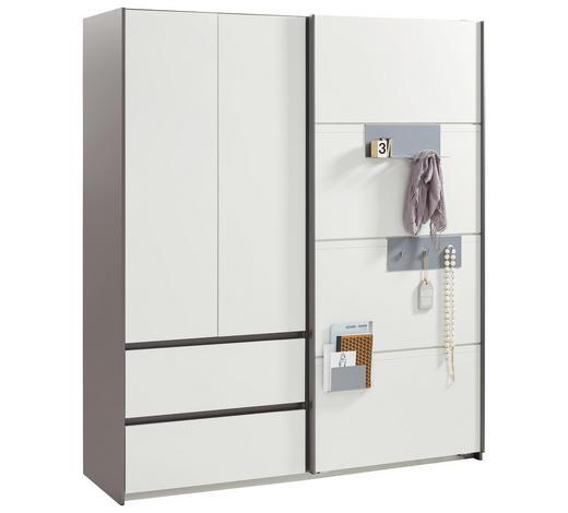 Kleiderschrank in Grau, Weiß online finden ➤ XXXLutz