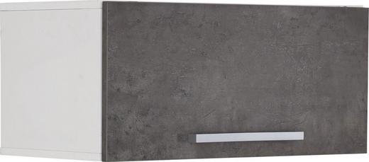 HÄNGEELEMENT Grau, Weiß - Alufarben/Weiß, Design, Metall (80/36/41,9cm) - Moderano