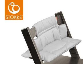 STOKKE TRIPP TRAPP DYNA - ljusgrå, Basics, textil (28/21/7cm) - Stokke