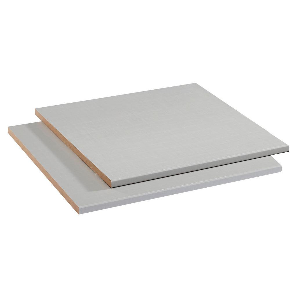 Hom`in Einlegebodenset 2-teilig für 50er elemente grau