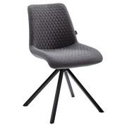 STUHL Grau  - Grau, Design, Textil/Metall (48/87/58cm) - Carryhome