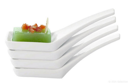 LÖFFEL - Weiß, Design (11cm) - ASA