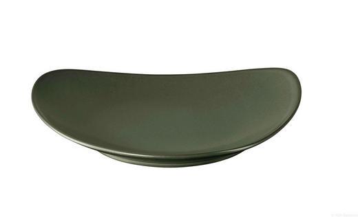 SPEISETELLER Keramik - Grün, Keramik (27,5cm) - ASA