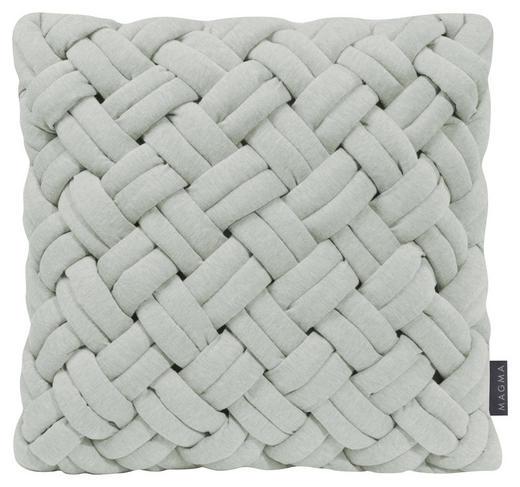 KISSENHÜLLE Hellgrün - Hellgrün, Textil (40/40cm)