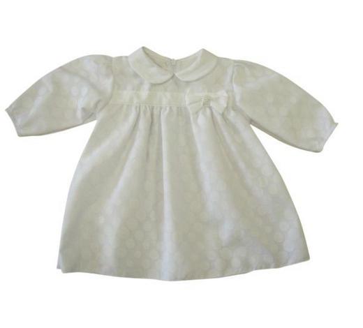 TAUFKLEID - Weiß, Basics, Textil (74null) - My Baby Lou