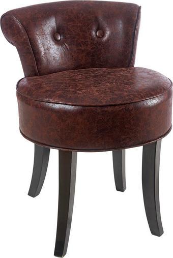 KŘESLO - tmavě hnědá, Lifestyle, dřevo/textil (47,5/66,5/51cm) - AMBIA HOME