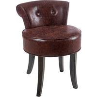 KŘESLO - tmavě hnědá, Lifestyle, dřevo/textilie (47,5/66,5/51cm) - Ambia Home