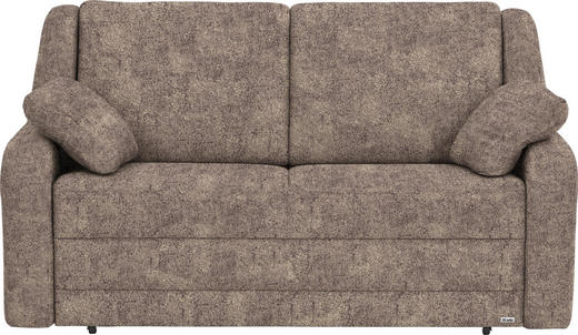 SCHLAFSOFA in Textil Beige, Hellbraun - Hellbraun/Beige, KONVENTIONELL, Kunststoff/Textil (158/88/91cm) - Sedda