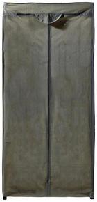 KLEIDERSCHRANK Gelb, Grau - Gelb/Grau, Textil (60/157/45cm)