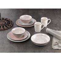 SALATSCHÜSSEL Steinzeug Keramik  - Creme/Braun, KONVENTIONELL, Keramik (21cm) - Ritzenhoff Breker