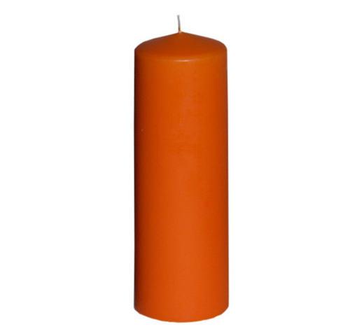 STUMPENKERZE 6,7/20 cm - Orange, Basics (6,7/20cm) - Steinhart