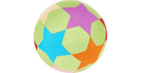 SPIELBALL - Multicolor, Basics, Kunststoff/Textil (30,5cm) - MY BABY LOU