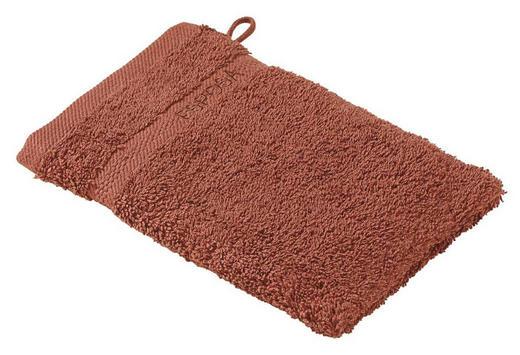 WASCHHANDSCHUH  Dunkelbraun - Dunkelbraun, Basics, Textil (16/21cm) - ESPOSA