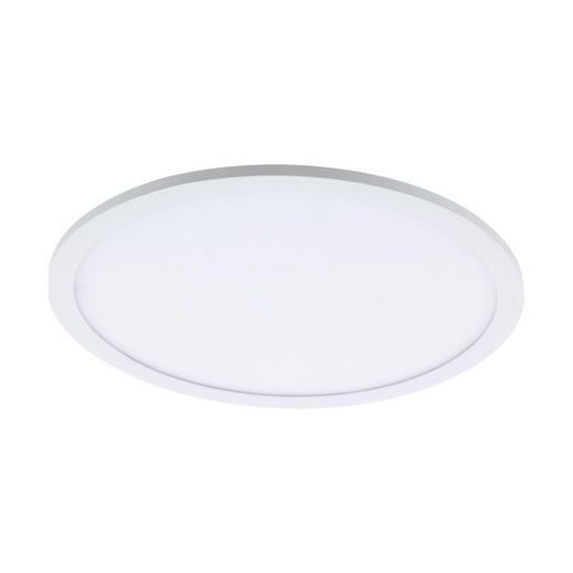 LED-DECKENLEUCHTE - Weiß, Design, Kunststoff/Metall (45/5cm)