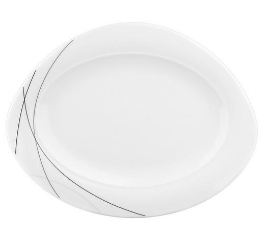 SERVÍROVACÍ PODNOS - bílá, Basics, keramika (31cm) - Seltmann Weiden