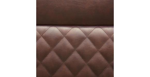 BARHOCKER in Metall, Textil Braun, Schwarz  - Schwarz/Braun, Design, Textil/Metall (44,5/111/54cm) - Xora