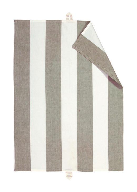 GESCHIRRTUCH - Grau, KONVENTIONELL, Textil (50/70cm) - Linum
