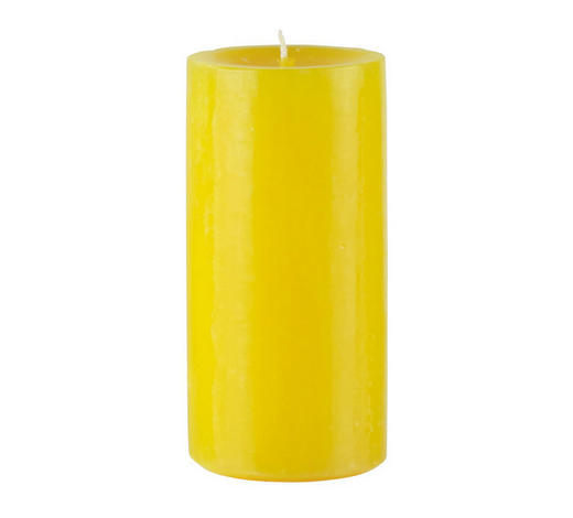 STUMPENKERZE 5,8/12 cm  - Gelb, Basics (5,8/12cm) - Steinhart