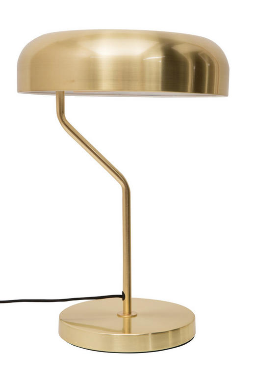 TISCHLEUCHTE - Bronzefarben, KONVENTIONELL, Metall (32/40cm)