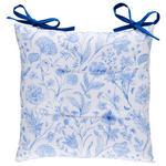 SITZKISSEN  40/40 cm   - Blau, LIFESTYLE, Textil (40/40cm) - Esposa