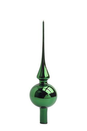 JULGRANSSPIRA - grön, Lifestyle, glas (7/27cm)