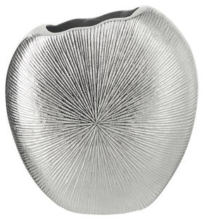 VAS - silver, Design, metall (19/8/18cm) - Ambia Home