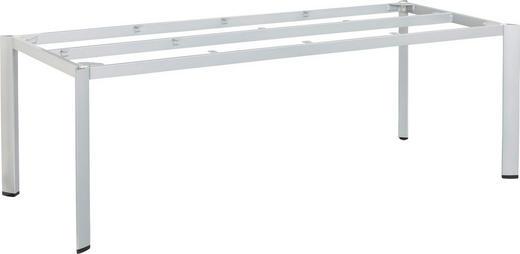 TISCHGESTELL in Metall, Kunststoff - Silberfarben, Design, Kunststoff/Metall (95/72,7/220cm) - Kettler HKS