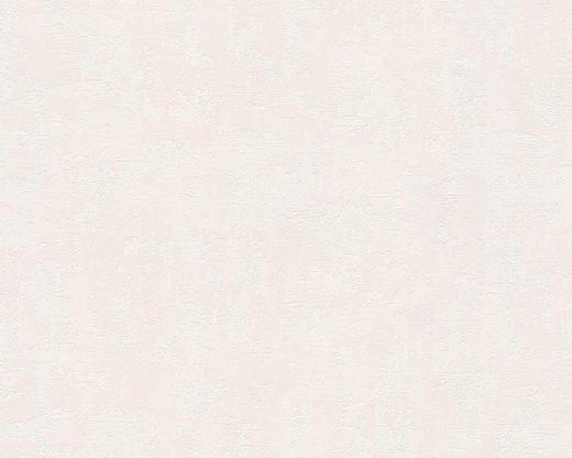 VLIESTAPETE 10,05 m - Creme/Hellgrau, Basics, Textil (53/1005cm)