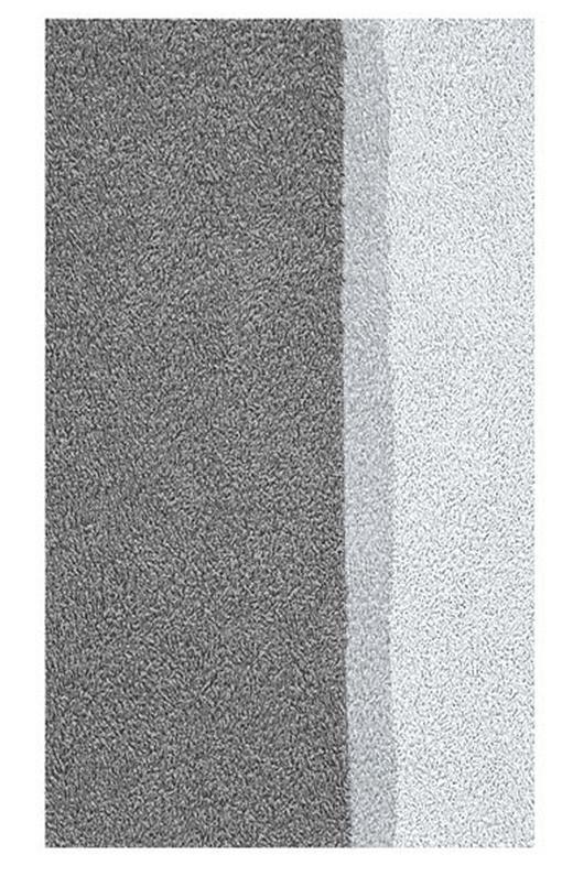BADTEPPICH  Anthrazit  70/120 cm - Anthrazit, Basics, Kunststoff/Textil (70/120cm) - KLEINE WOLKE
