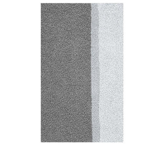 BADTEPPICH  Anthrazit  55/65 cm - Anthrazit, Basics, Kunststoff/Textil (55/65cm) - Kleine Wolke