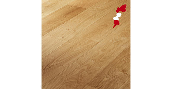 Schlossdiele Eiche rustikal  per  m² - Eichefarben, LIFESTYLE, Holz (238/23,3/1,3cm) - Ambiente