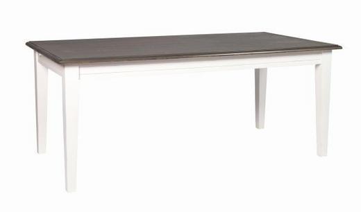 MATBORD - vit/grå, Klassisk, trä (190/95/76cm) - Rowico