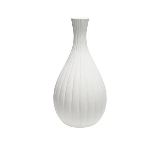 VASE 33,5 cm - Weiß, Trend, Keramik (17/33,5cm) - Ambia Home